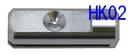 HK02 超音波カッターUSW-334・彫刻刀USW-334ek用刃固定具【3個以上で送料無料。10個以上で送料無料+2個増量+SB01プレゼント。】