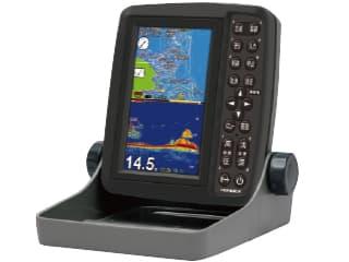GPSプロッター魚探