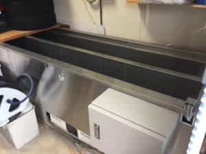 ブラインドを洗う超音波洗浄装置