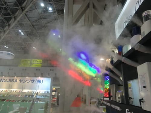 ISOT展での超音波霧化事例