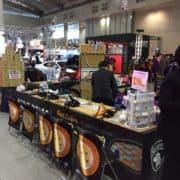 東京オートサロン 超音波カッターはごんた屋で!