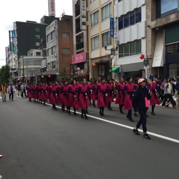 豊橋祭りパレード