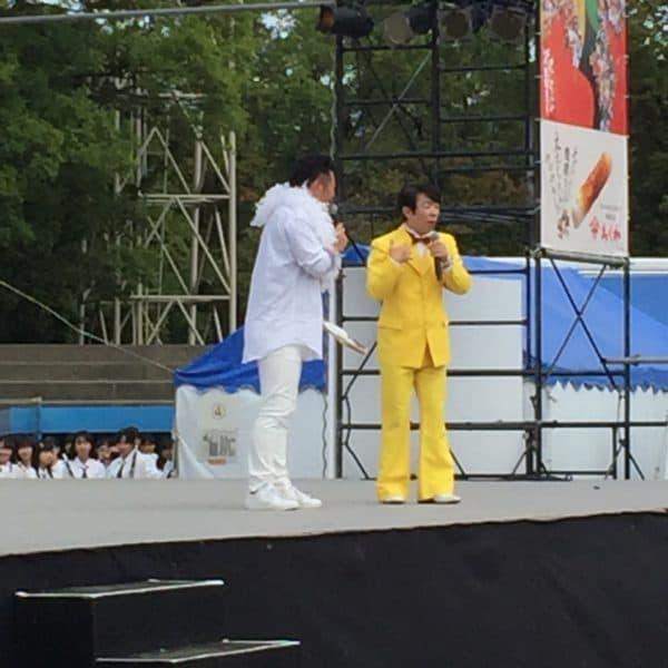 ダンディ坂野さんと辻さん