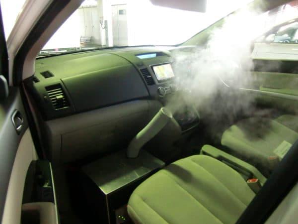 車両消臭事例