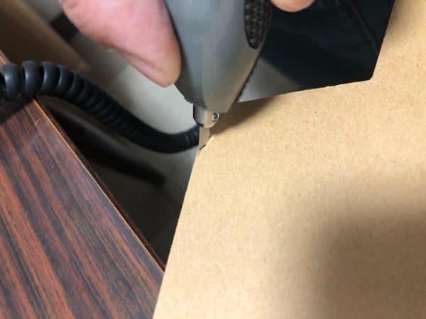 段ボール超音波カッター製作