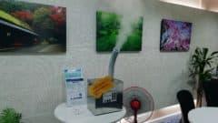 タイ王国レンタルオフィスで次亜塩素酸除菌水を噴霧