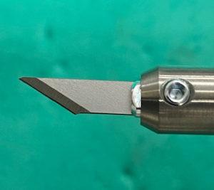 切断前の標準刃