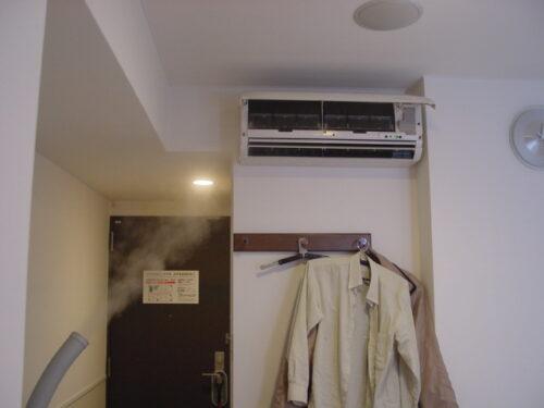 広島にあるホテルの除菌消臭施工