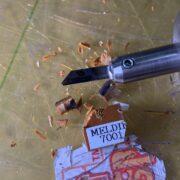 全芳香族ポリイミド樹脂MELDIN®(メルディン)7001 対 ホビー用超音波カッター