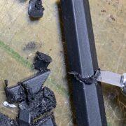 ポリブチレンテレフタレートガラス繊維樹脂の切断